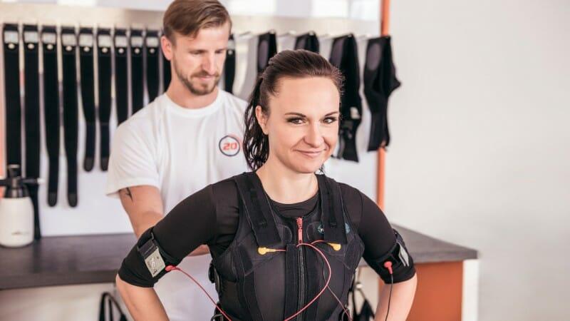 EMS Training - Weste und Elektroden anlegen