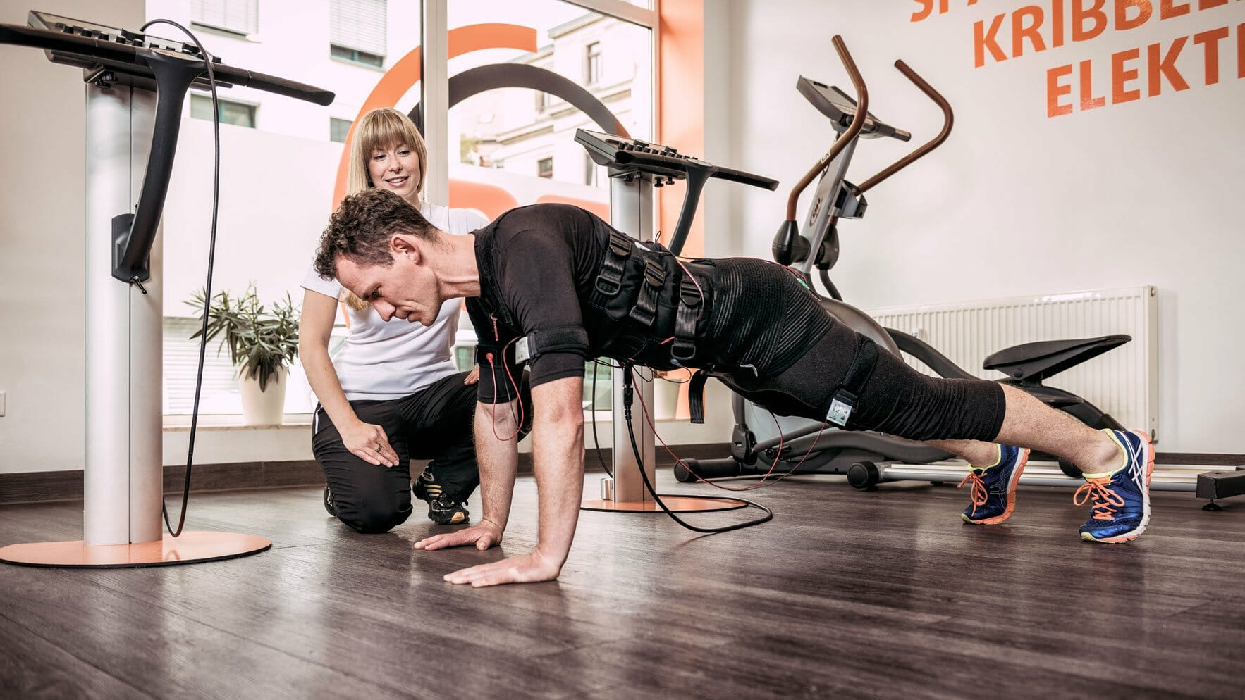 EMS Krafttraining mit Personal Trainer